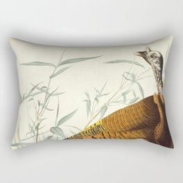 Great American Cock (Wild Turkey) Rectangular Pillow