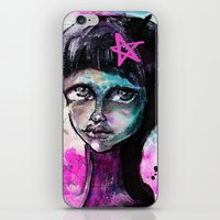 sister iPhone & iPod Skins featuring SIsTeR by SannArt