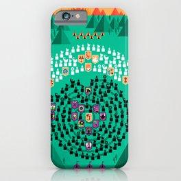 Mahabharata - 13th Day of Battle iPhone Case