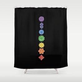 Chakra Shower Curtain