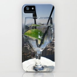 Lime in the Sky iPhone Case