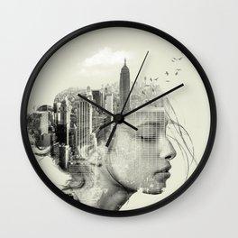 Reflection, New York City Wall Clock