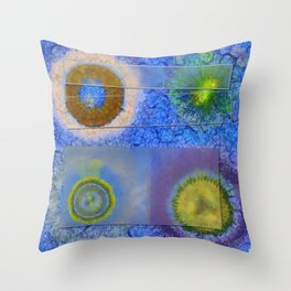 Unparalysed Unconcealed Flowers  ID:16165-032529-06851 Throw Pillow