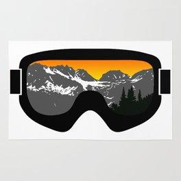 Sunset Goggles 2 | Goggle Designs | DopeyArt Rug
