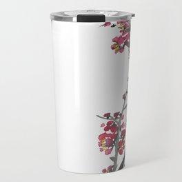 Plum Blossom Two Travel Mug