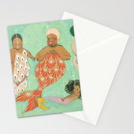 Everyone a Mermaid Stationery Cards