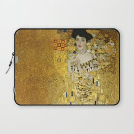 Gustav Klimt - Portrait of Adèle Bloch Bauer Laptop Sleeve