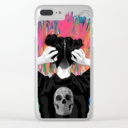 the Void II Clear iPhone Case