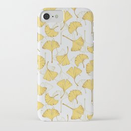 Ginkgo Pattern iPhone Case