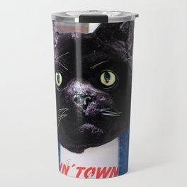 Fashion Cat Travel Mug