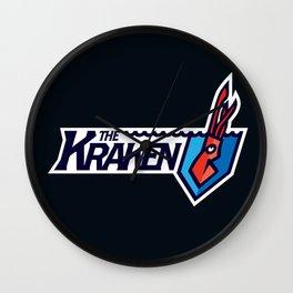 The Kraken Full Logo Wall Clock