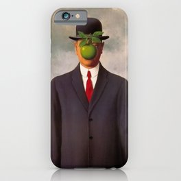 The Son of Man - Rene Magritte iPhone Case