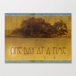 ODAT Oaks by the Lake Canvas Print