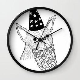 Dog Wizard Wall Clock