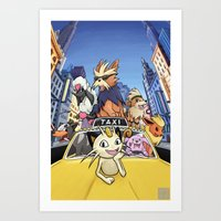 Movie Poster - Oliver and Company Art Print