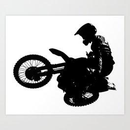 SuperX Art Print