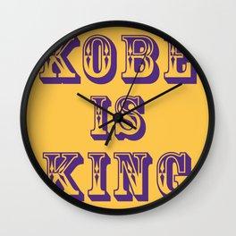 RIP KING Wall Clock