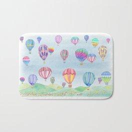 Hot Air Ballon Festival Bath Mat