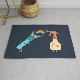 Together we make rainbow Rug