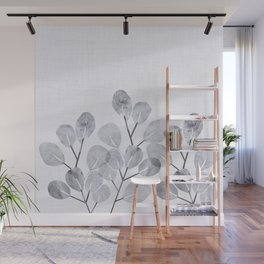 Japanese Woodblock Botanical Wall Mural