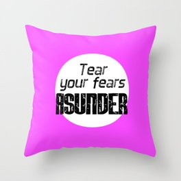 416 NL Quote Throw Pillow