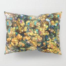 Peacock Rainbow Glitter Pillow Sham