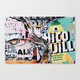 The Wild Posters (Color) Canvas Print