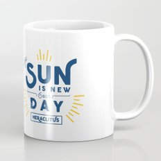 Heraclitus - The sun is new each day Mug