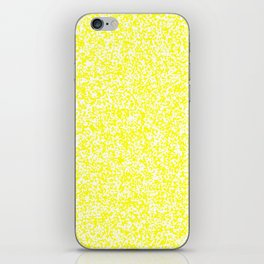 Tiny Spots - White and Yellow iPhone Skin