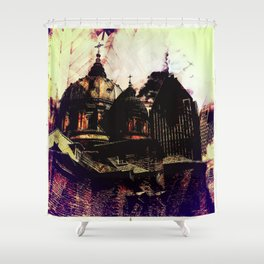 Montreal city Shower Curtain