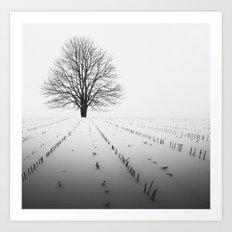Spade of Winter Art Print