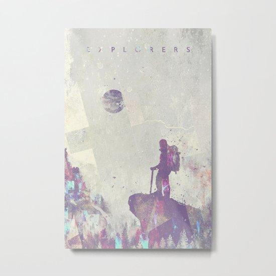 Explorers I Metal Print