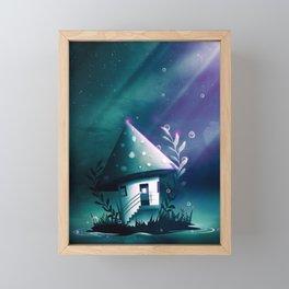Magic Mush Room Framed Mini Art Print