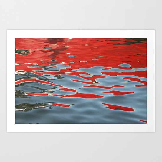 Reflections on Water Art Print