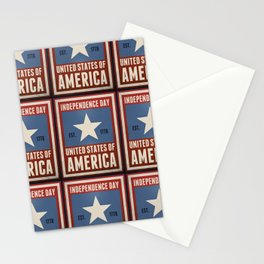 Independence Day Stationery Cards
