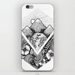 Geometric Nature iPhone Skin