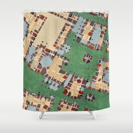 Cipher n. 14 Shower Curtain