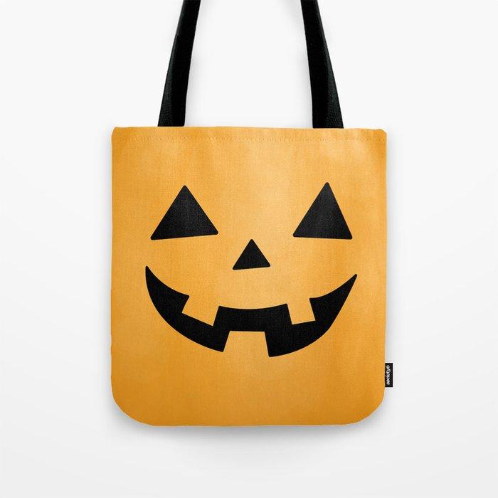 Happy Jack-O-Lantern Tote Bag