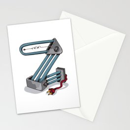 MACHINE LETTERS - Z Stationery Cards