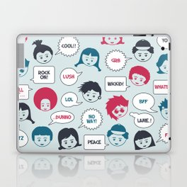 Kids Speak Laptop & iPad Skin