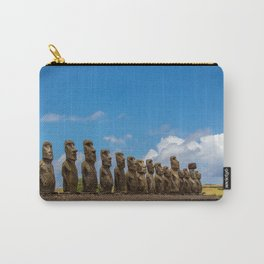 Ahu Tongariki // Easter Island // Moai statues // Photography Carry-All Pouch