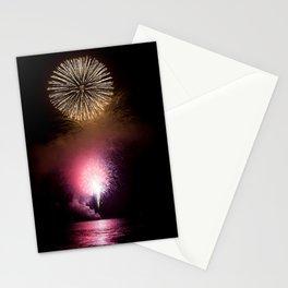 Fireworks Display Stationery Cards