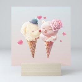 Ice Cream Love Mini Art Print