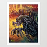 Alien - Xenomorph Art Print