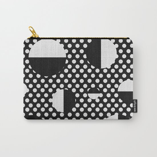 It's Black, It's White Carry-All Pouch