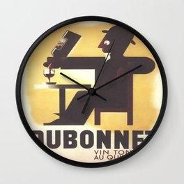Vintage poster - Dubonnet Wall Clock