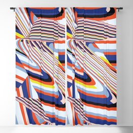 Over Lines Blackout Curtain