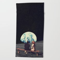 We Used To Live There Beach Towel