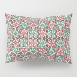 Christmas knitted jacquard pattern Pillow Sham