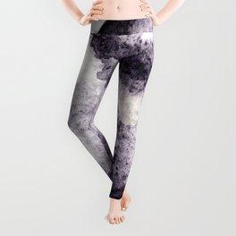 Watercolor Moon - Lunar Violet Leggings